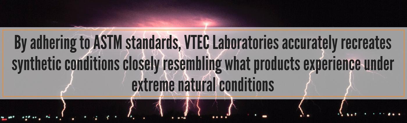 astm standards - VTEC Laboratories